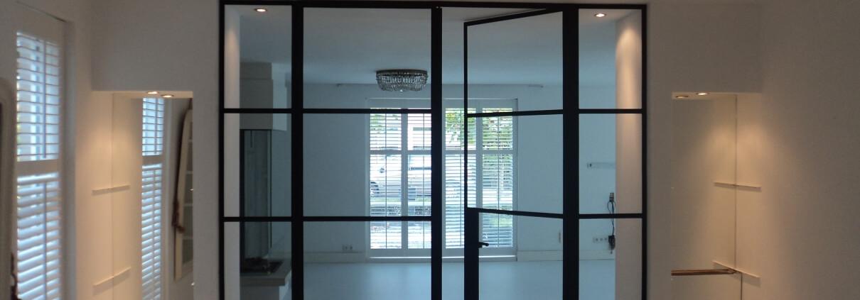 Stalen deuren, smeedijzer deuren en suite, Smederij van Baars